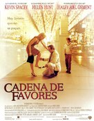 Pay It Forward - Spanish Movie Poster (xs thumbnail)