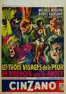 I tre volti della paura - Belgian Movie Poster (xs thumbnail)