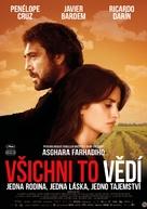 Todos lo saben - Czech Movie Poster (xs thumbnail)
