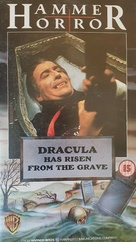 Dracula Has Risen from the Grave - British VHS movie cover (xs thumbnail)