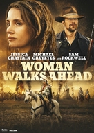 Woman Walks Ahead - Danish Movie Cover (xs thumbnail)