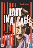 Lady in a Cage - British DVD cover (xs thumbnail)