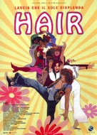 Hair - Italian Theatrical movie poster (xs thumbnail)
