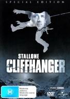 Cliffhanger - Australian DVD cover (xs thumbnail)