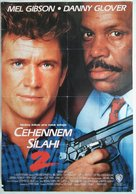 Lethal Weapon 2 - Turkish Movie Poster (xs thumbnail)