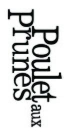 Poulet aux prunes - Canadian Logo (xs thumbnail)