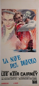 The Devil-Ship Pirates - Italian Movie Poster (xs thumbnail)