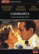 Casablanca - German DVD cover (xs thumbnail)