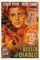 La beautè du diable - Argentinian Movie Poster (xs thumbnail)