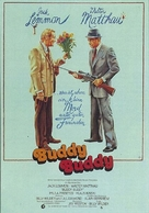 Buddy Buddy - German Movie Poster (xs thumbnail)