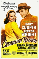 Casanova Brown - Movie Poster (xs thumbnail)