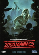 Two Thousand Maniacs! - German DVD cover (xs thumbnail)