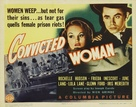Convicted Woman - Theatrical poster (xs thumbnail)
