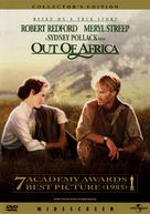 Out of Africa - DVD cover (xs thumbnail)