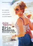 Erin Brockovich - Italian Movie Poster (xs thumbnail)
