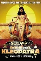 Astérix & Obélix: Mission Cléopâtre - Polish Movie Poster (xs thumbnail)