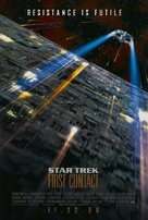 Star Trek: First Contact - Advance movie poster (xs thumbnail)