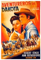 Badlands of Dakota - Spanish Movie Poster (xs thumbnail)