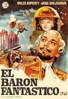 Baron Prásil - Spanish Movie Poster (xs thumbnail)