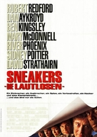 Sneakers - German Movie Poster (xs thumbnail)