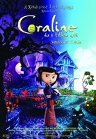 Coraline - Hungarian Movie Poster (xs thumbnail)