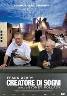 Sketches of Frank Gehry - Italian poster (xs thumbnail)