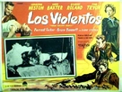 Three Violent People - Mexican Movie Poster (xs thumbnail)