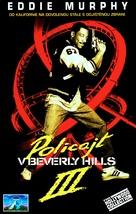 Beverly Hills Cop 3 - Czech VHS movie cover (xs thumbnail)