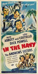 In the Navy - Movie Poster (xs thumbnail)