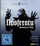 Nosferatu: Phantom der Nacht - German Blu-Ray cover (xs thumbnail)