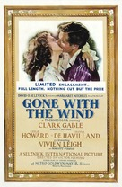 Gone with the Wind - Theatrical poster (xs thumbnail)