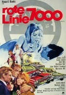 Red Line 7000 - German Movie Poster (xs thumbnail)