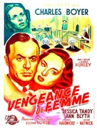A Woman's Vengeance - French Movie Poster (xs thumbnail)