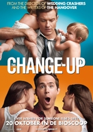 The Change-Up - Dutch Movie Poster (xs thumbnail)