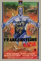 The Revenge of Frankenstein - German Movie Cover (xs thumbnail)
