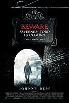 Sweeney Todd: The Demon Barber of Fleet Street - Advance movie poster (xs thumbnail)