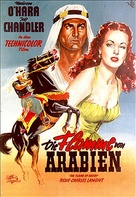 Flame of Araby - German Movie Poster (xs thumbnail)
