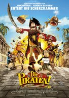 The Pirates! Band of Misfits - German Movie Poster (xs thumbnail)