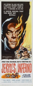 The Two Faces of Dr. Jekyll - Theatrical movie poster (xs thumbnail)