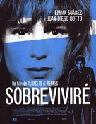 Sobreviviré - Spanish Movie Poster (xs thumbnail)