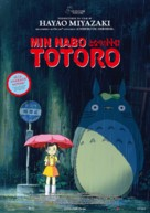 Tonari no Totoro - Norwegian Movie Poster (xs thumbnail)