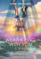Weathering with You - Finnish Movie Poster (xs thumbnail)