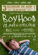 Boyhood - Romanian Movie Poster (xs thumbnail)