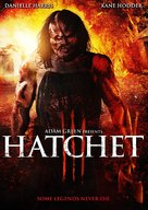 Hatchet III - DVD movie cover (xs thumbnail)