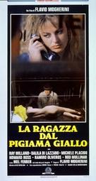 La ragazza dal pigiama giallo - Italian Movie Poster (xs thumbnail)