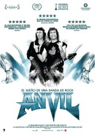 Anvil! The Story of Anvil - Spanish Movie Poster (xs thumbnail)