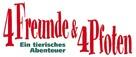 4 Freunde und 4 Pfoten - German Logo (xs thumbnail)