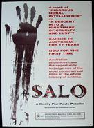 Salò o le 120 giornate di Sodoma - Australian Theatrical poster (xs thumbnail)