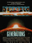 Star Trek: Generations - French Movie Poster (xs thumbnail)