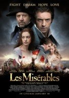 Les Misérables - New Zealand Movie Poster (xs thumbnail)